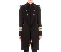 Plein Sud Damen Military Mantel schwarz