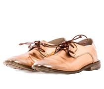 Damen Schnürschuhe bronze