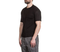 Herren T-Shirt Crashed Look schwarz