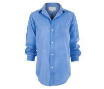 Hemd Oversize blau