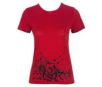 Damen T-Shirt LIPSTICKS rot