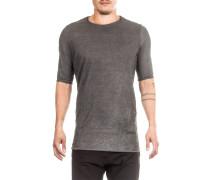 Herren T- Shirt asymmetrisch ICON POINT grau