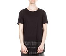Dip Herren T-Shirt Streifen schwarz