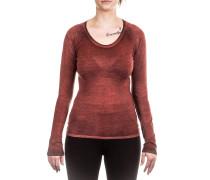 Damen Kaschmir Mix Pullover rot