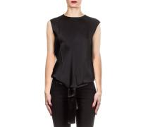 Damen Shirt DRAPE schwarz