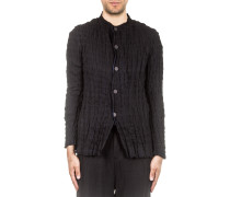 Blazer Crashed Look schwarz