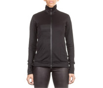 Damen Sweat Jacke 3S TRACK schwarz