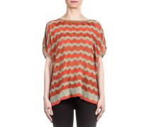 Damen Strick Shirt multicolour