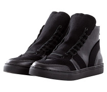 Back Zip Sneakers black
