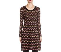 Damen Strick Kleid multicolor