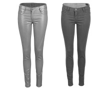 Reversible Jeans Wendejeans in tinmembrane / grey