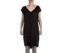 Damen Viskose Kleid schwarz