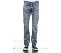 NOIR Japanese Jeans DEMON hellblau