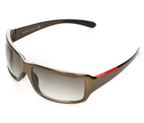 Sonnenbrille SPS08G metallic/grün