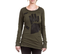 Dip Damen Langarm Shirt Avantgarde olive