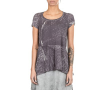 Black Label Damen T-Shirt Avantgarde grau