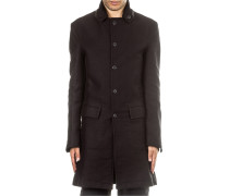 Herren Mantel ZI33G schwarz