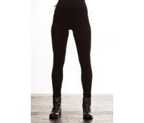 Damen Jersey Leggings schwarz
