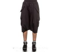 Damen Sarouelhose schwarz
