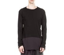 Dip Herren Langarm Shirt schwarz navy