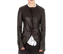 Dip Damen Lederjacke schwarz