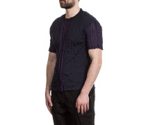 Herren T-Shirt Crashed Look navy