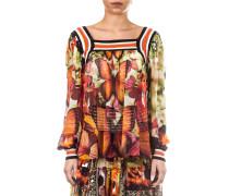 Soleil Damen Tüllshirt GIAMAICA multicolour