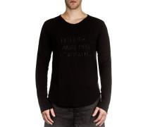 Dip Herren Langarm Shirt schwarz