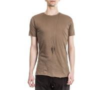 Herren Rundhals T-Shirt braun