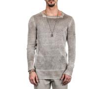 Herren Leinen Pullover taupe