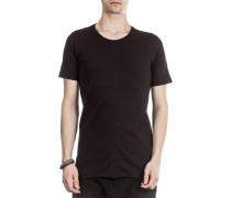Herren Rundhals T-Shirt schwarz