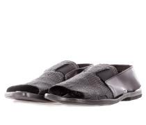 Herren Leder Sandale CANGURO schwarz