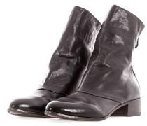 Damen Stiefeletten mit Zip FOX NERO schwarz