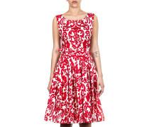 Damen Sommerkleid rot weiß