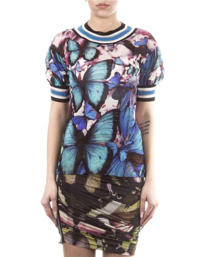 Soleil Damen Tüllshirt BLUETTE multicolour