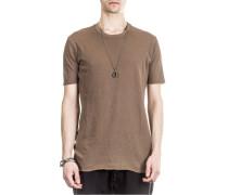 ad3d3ca9969835 Herren Rundhals T-Shirt braun. THOM KROM