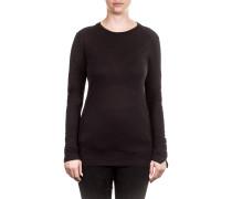 Damen Langarm Shirt schwarz