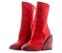 Damen Stiefel mit Zip MASSICCIA rot