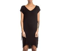 Damen Kleid rückenfrei schwarz