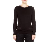 Damen Sweatshirt schwarz