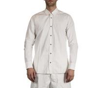 Dip Herren Baumwoll Hemd off white