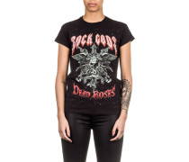 Damen T-Shirt CARDONA schwarz