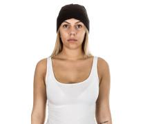 Unisex Mütze Beanie schwarz