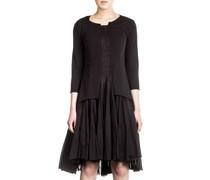 Black Label Damen Kleid Avantgarde schwarz