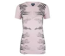 Shirt zebra print rosa