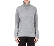 Damen Kaschmir Pullover grau