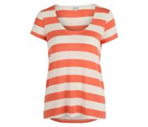 Damen T-Shirt Oversized PAPAYA