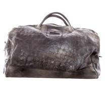 Leder Tasche anthrazit