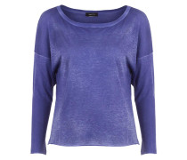 Damen Baumwoll Shirt blau