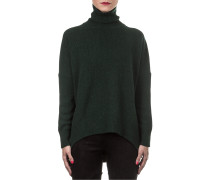 Damen Kaschmir Mix Pullover grün